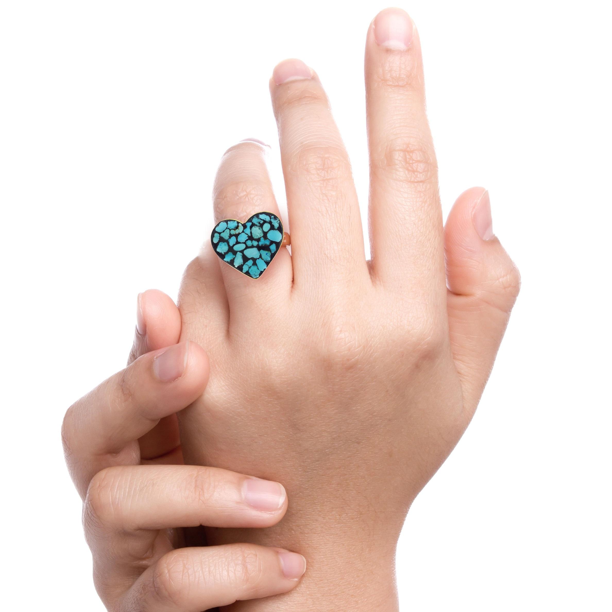 بهترین انگشتر فیروزه