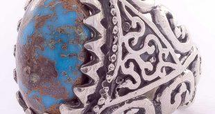 رکاب انگشتر فیروزه سلطنتی